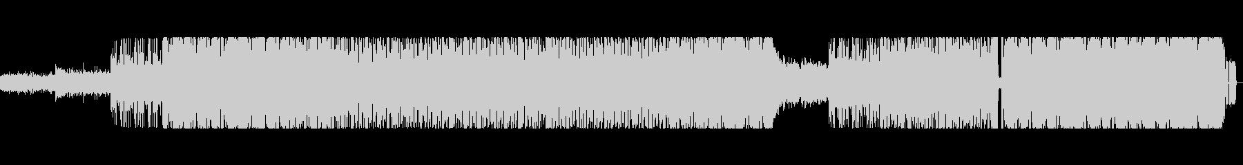 元気の出る明るい曲調のインスト曲の未再生の波形