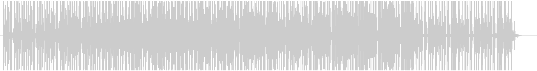 入場などに適したポップなエレクトロニカの未再生の波形