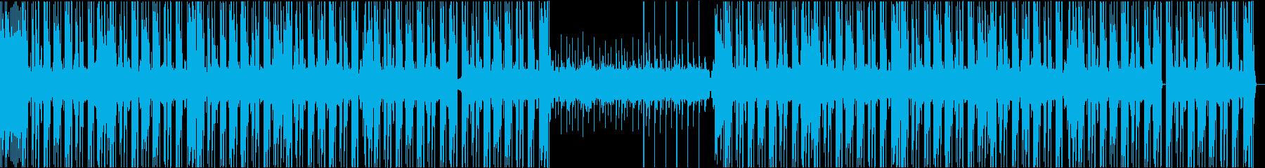 温故知新感のあるHIPHOPビートの再生済みの波形