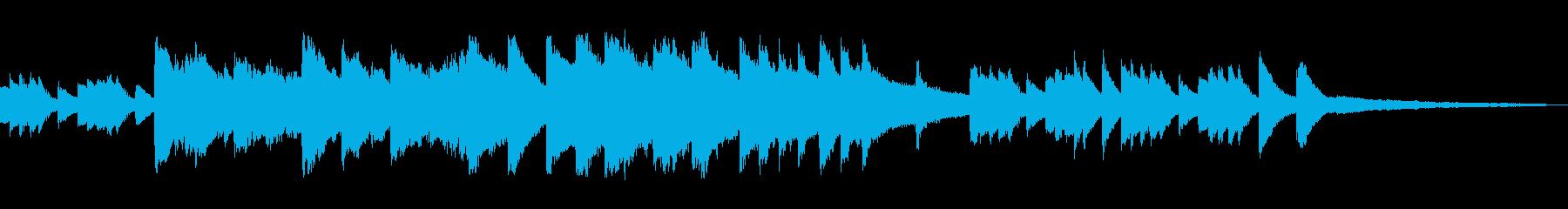 ピアノによる半インストの再生済みの波形