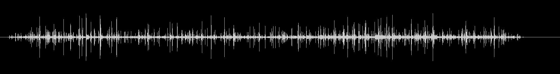 パチパチ火2の未再生の波形