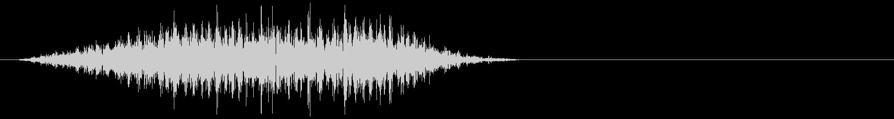 モンスター 発声 26の未再生の波形