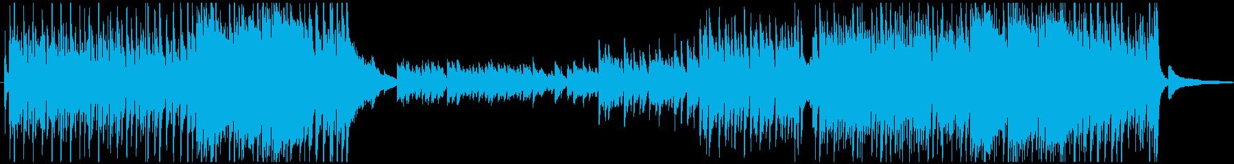 疾走感 ピアノメイン ゲーム感の再生済みの波形