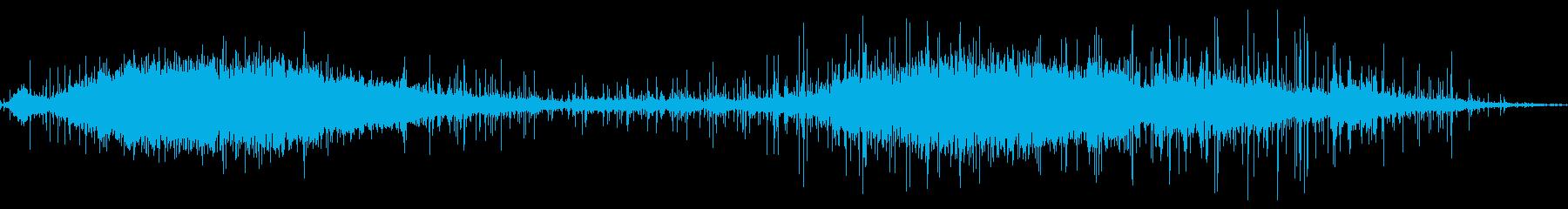 群衆インテリア講堂2波の応援の再生済みの波形
