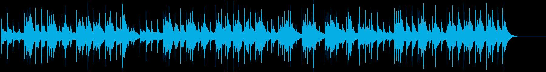 凱旋行進曲 オルゴールの再生済みの波形