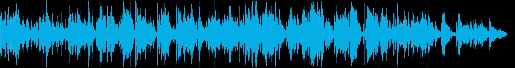 アダルティな優しいバラード生演奏サックスの再生済みの波形