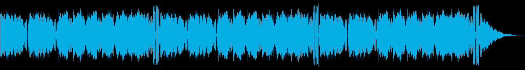 GB風対戦格闘ゲームのステージ曲の再生済みの波形