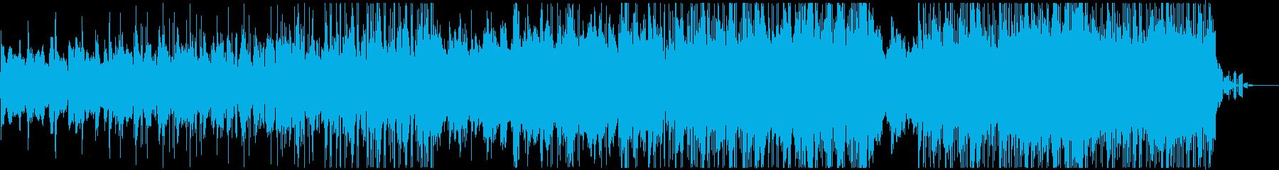 サイケデリックでアンニュイなテクノポップの再生済みの波形