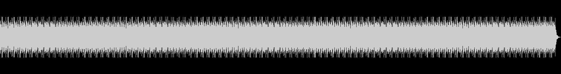 アフリカの地平線をイメージしたBGMの未再生の波形