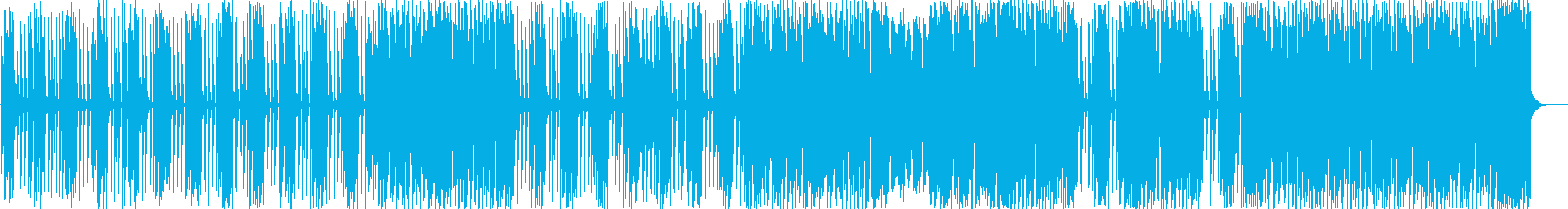キュートでポップ・カワイイ系EDMの再生済みの波形