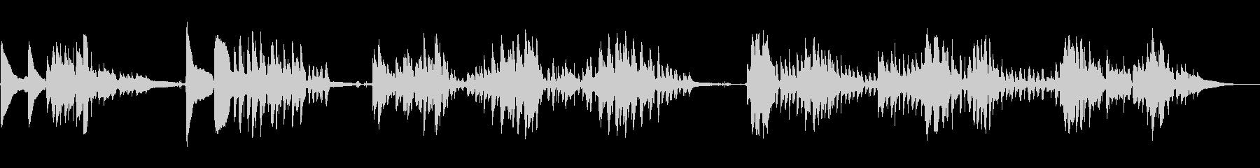 マンドリン:ラストポスト、ラピッド...の未再生の波形