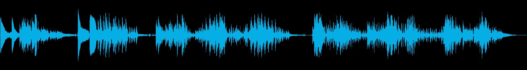 マンドリン:ラストポスト、ラピッド...の再生済みの波形