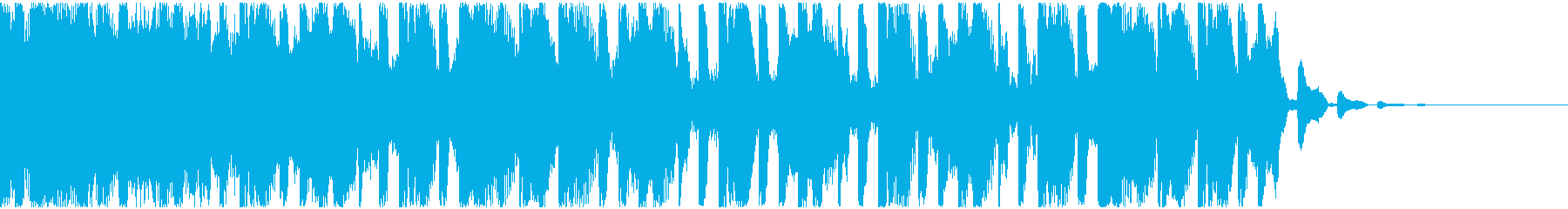 【EDM】トランス、ショート5の再生済みの波形