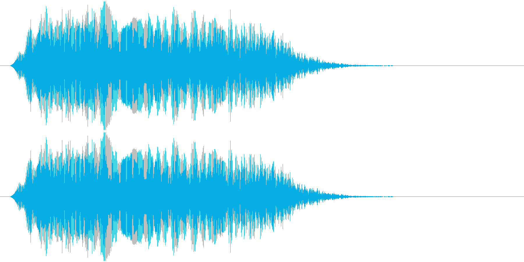 よーい…(幼児)の再生済みの波形