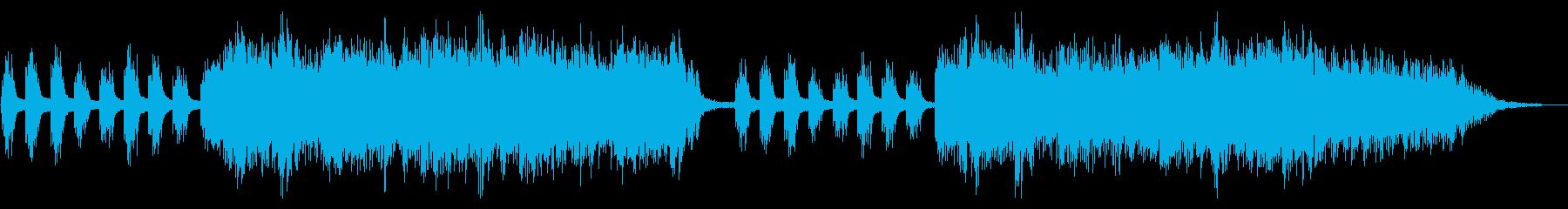 ピアノと波の音にとけあう癒しのハーモニーの再生済みの波形