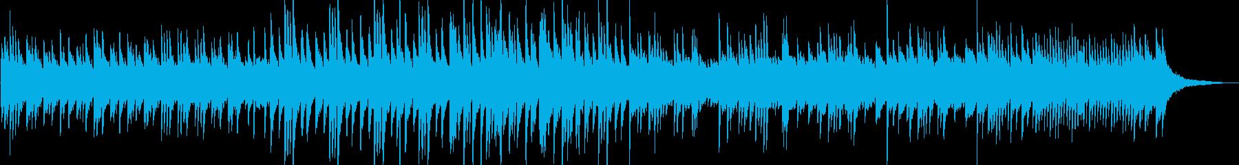 幻想的なピアノ曲ですの再生済みの波形