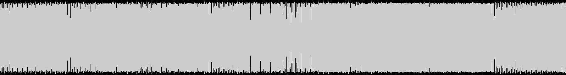 【ループBGM】泣メロ強低音ハードテクノの未再生の波形