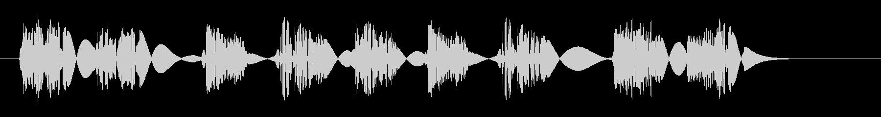 クイックスタッターバンプスイープの未再生の波形