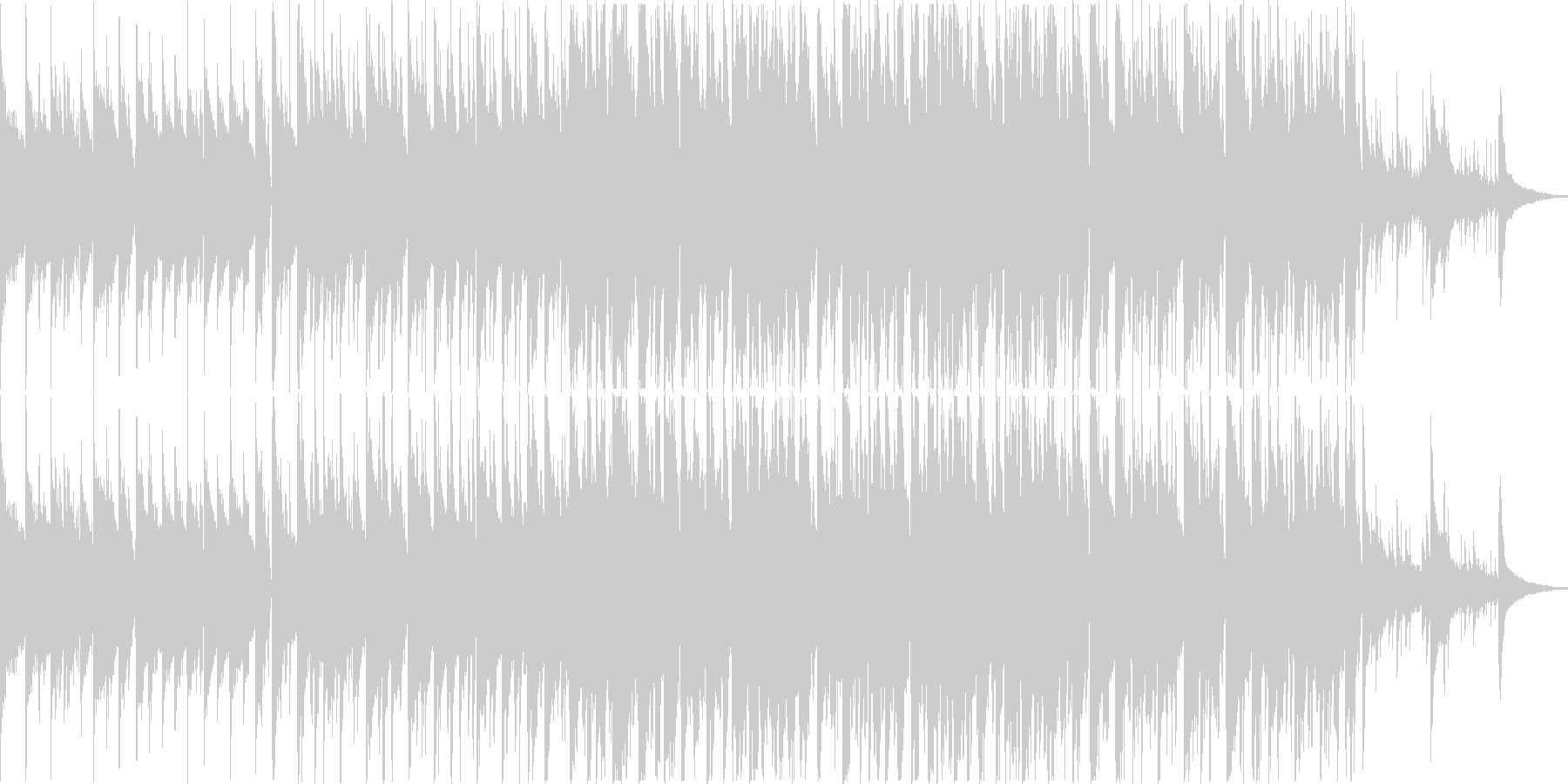 アコースティックギター、ソフトスト...の未再生の波形