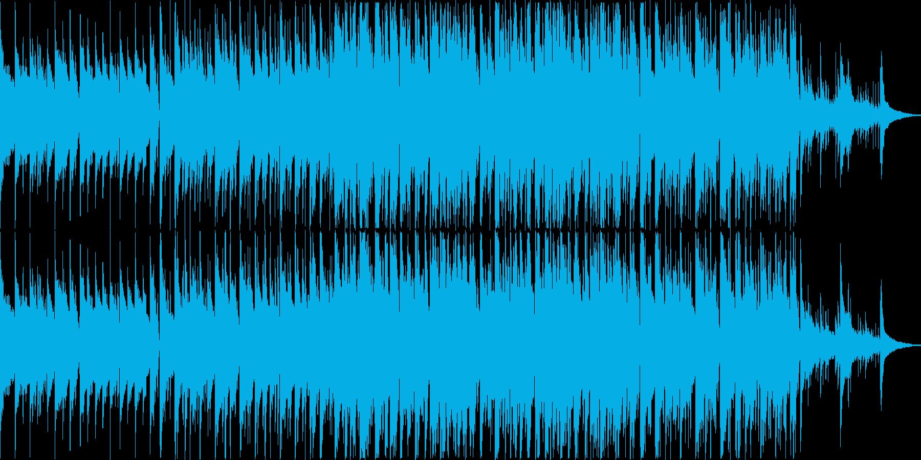 アコースティックギター、ソフトスト...の再生済みの波形
