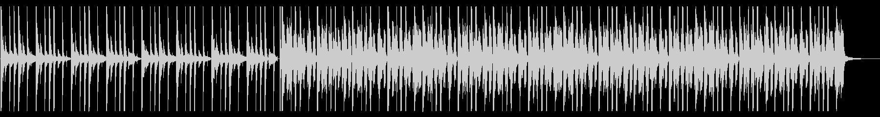 コミカルなファンク_No691_2の未再生の波形