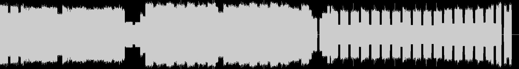 ファミコン風ファンファーレの未再生の波形