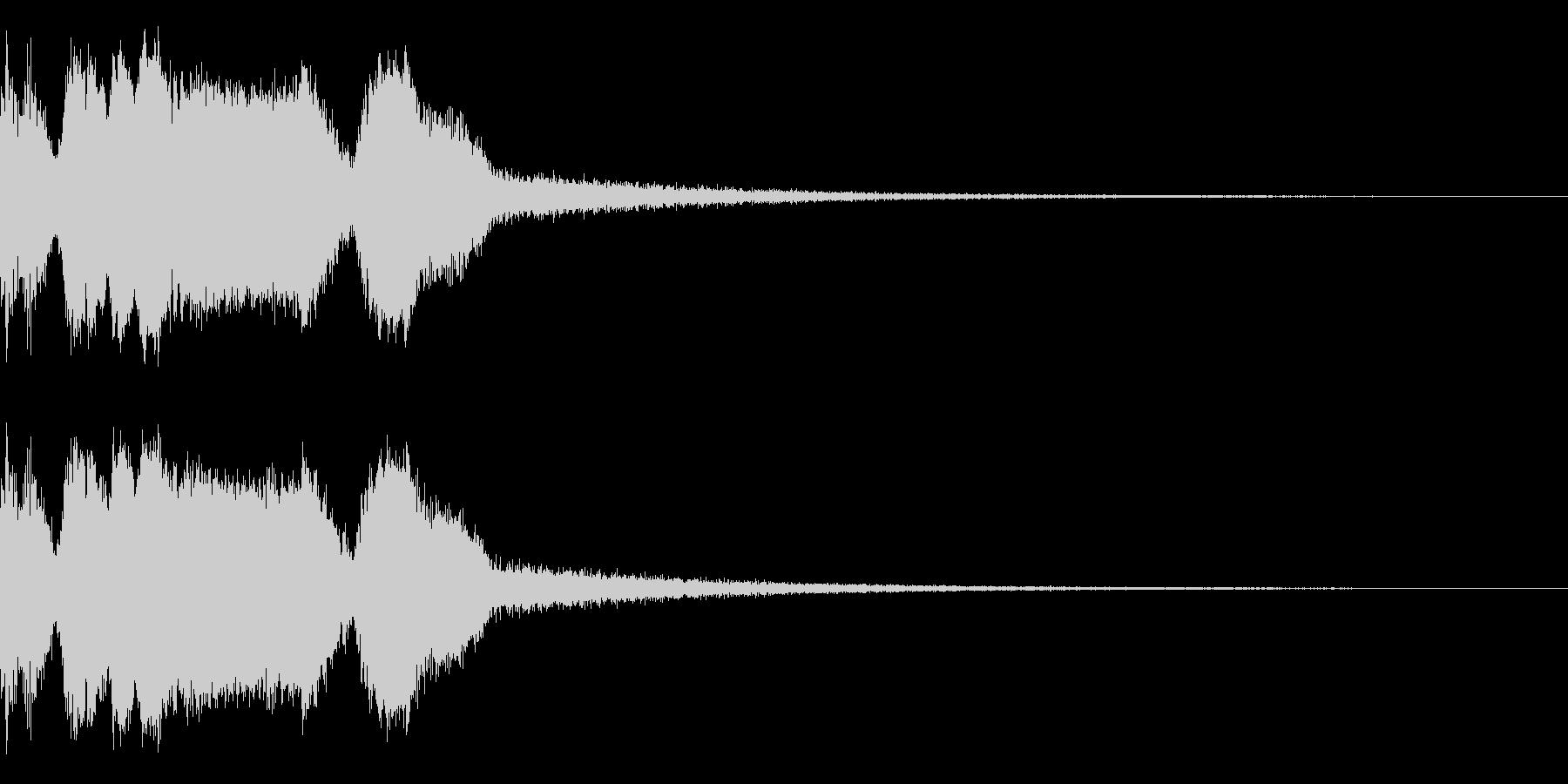 DJFX ヒットチャート発表前SE 15の未再生の波形