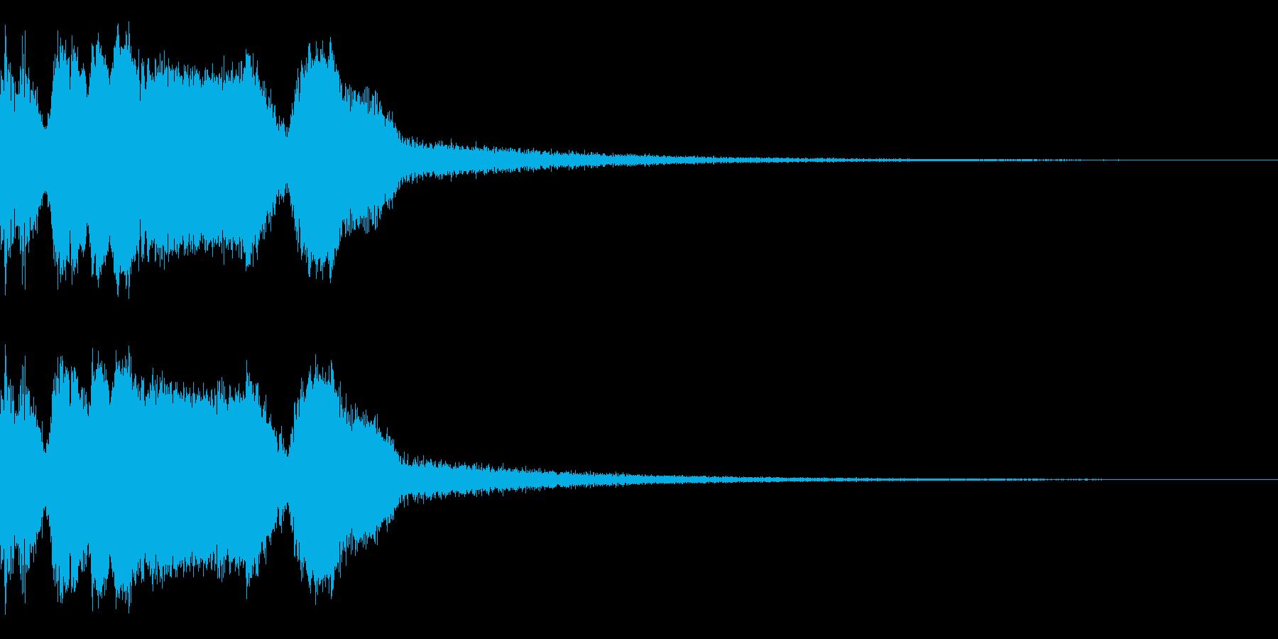 DJFX ヒットチャート発表前SE 15の再生済みの波形