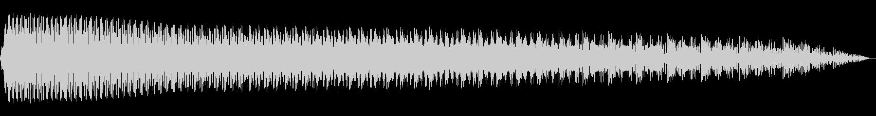 電動スワイプ4の未再生の波形