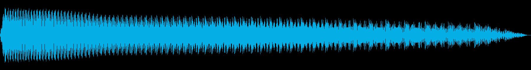 電動スワイプ4の再生済みの波形