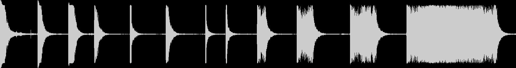 マシンミダーボックスの未再生の波形