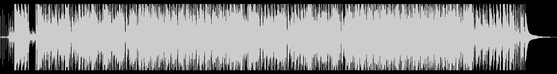ジングルベルのジャズアレンジの未再生の波形