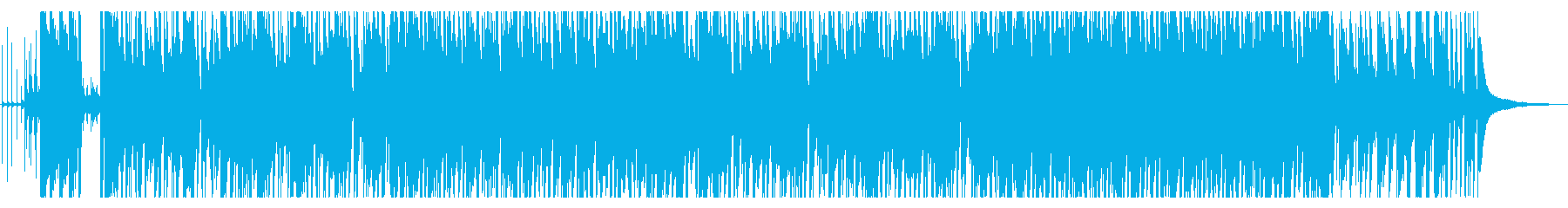 ジングルベルのジャズアレンジの再生済みの波形