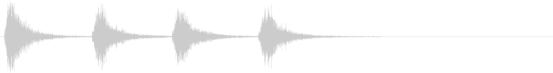 コテージのメタルスクリーンドア:メ...の未再生の波形