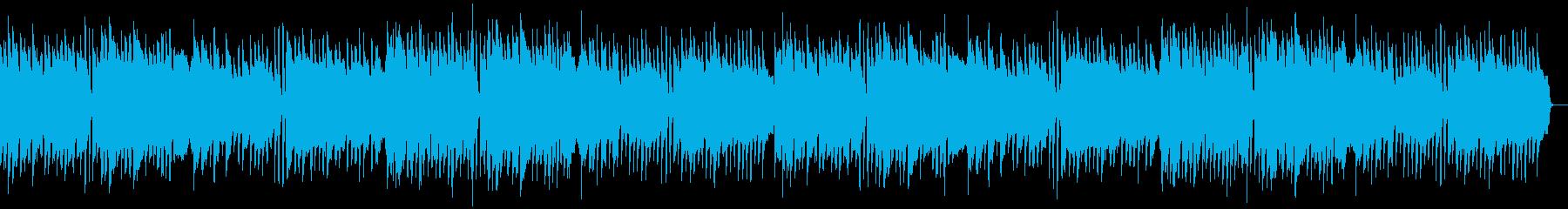 日常、ほのぼの、ゆったりの再生済みの波形