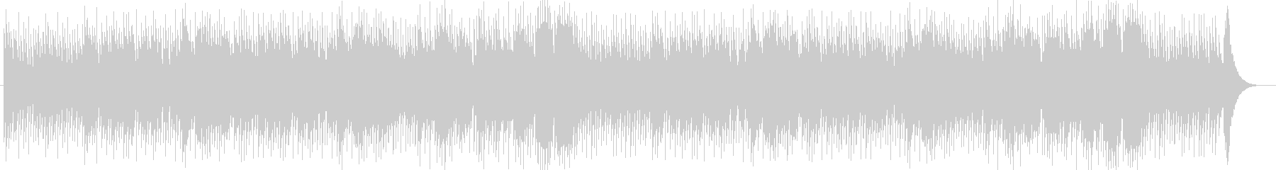 ギター&チェロ&ピアノの落ち着くBGMの未再生の波形