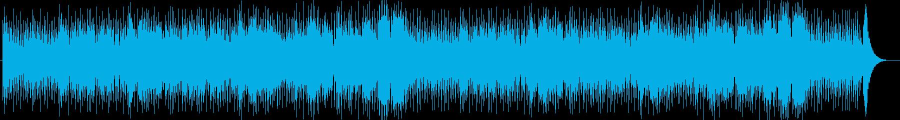 ギター&チェロ&ピアノの落ち着くBGMの再生済みの波形