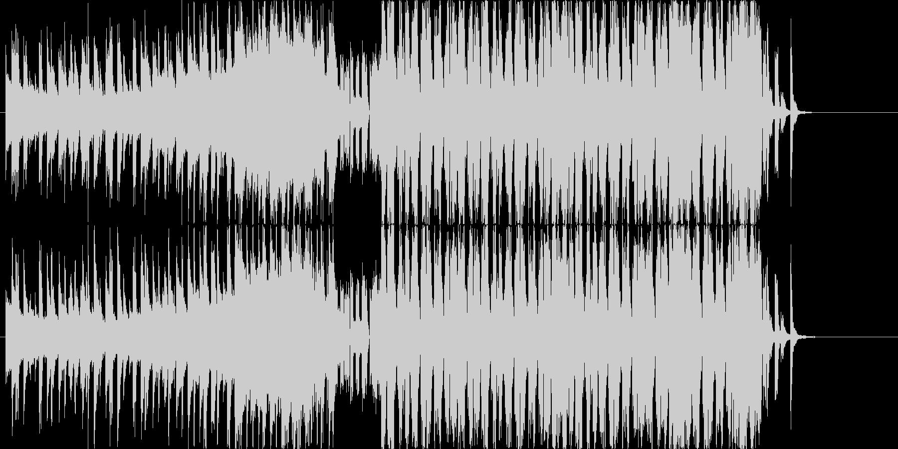 8BitサウンドのノリノリなEDMの未再生の波形