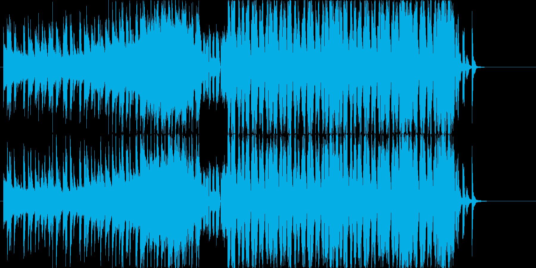 8BitサウンドのノリノリなEDMの再生済みの波形