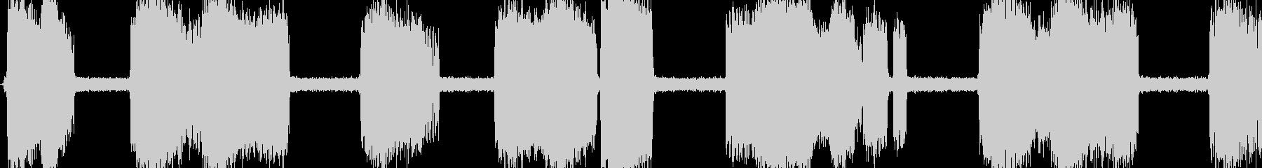 130_ショートする音 ビリビリバリバリの未再生の波形
