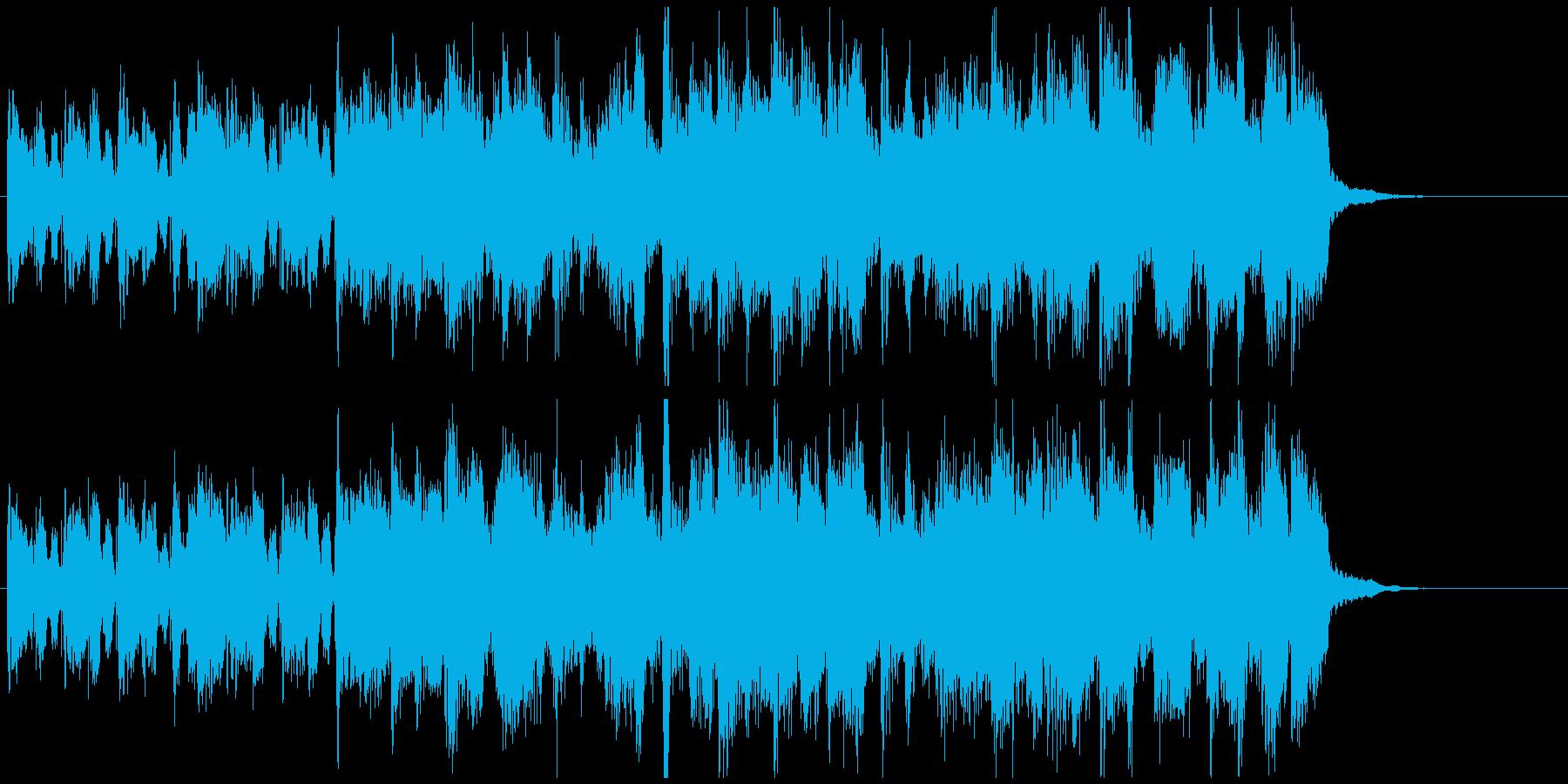 牧歌的ほんわかカントリー◆15秒CM向けの再生済みの波形