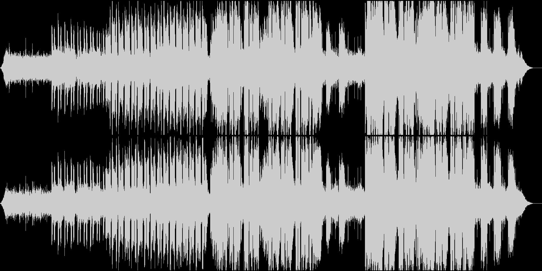 ヒーリング効果・安眠効果・癒しのバラードの未再生の波形