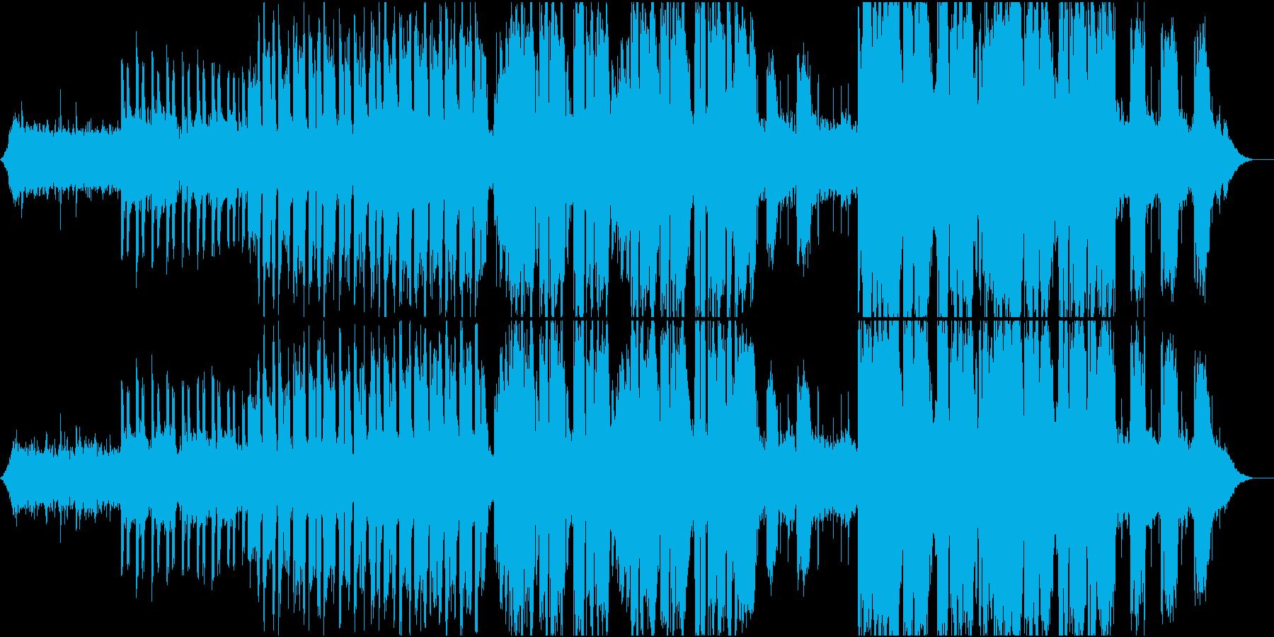 ヒーリング効果・安眠効果・癒しのバラードの再生済みの波形