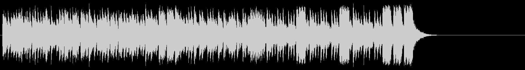 活気あふれるポップ(サビ~イントロ)の未再生の波形