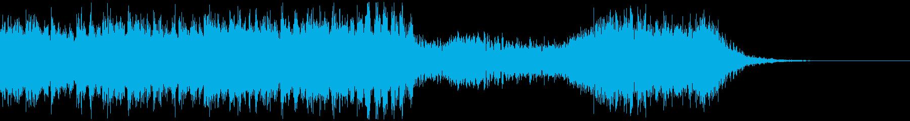 【予告編】ハリウッド・トレーラー・ダークの再生済みの波形