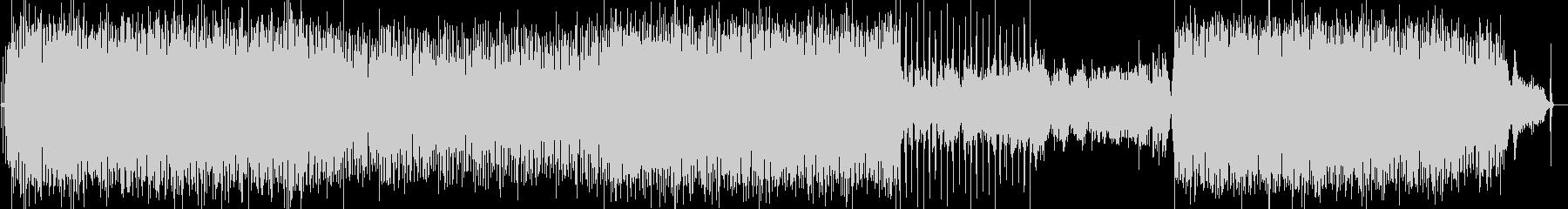 ポップス調のピアノ曲の未再生の波形