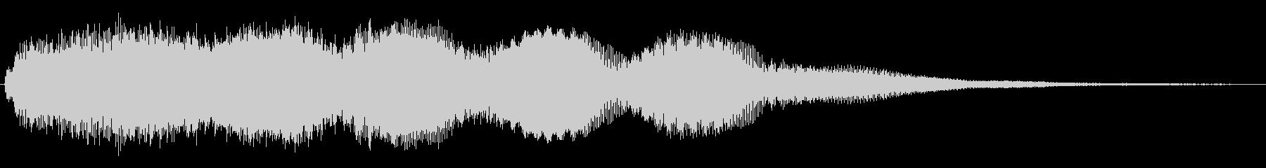 レトロ起動ジャーン/分厚い和音ME7の未再生の波形