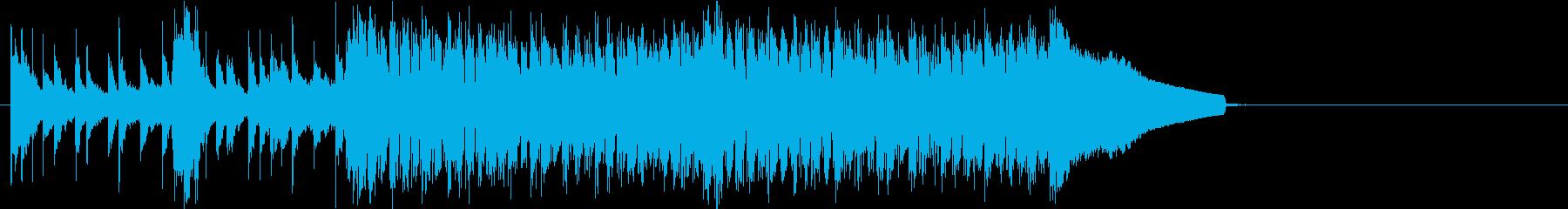 さわやかな雰囲気のストリングスサウンドの再生済みの波形