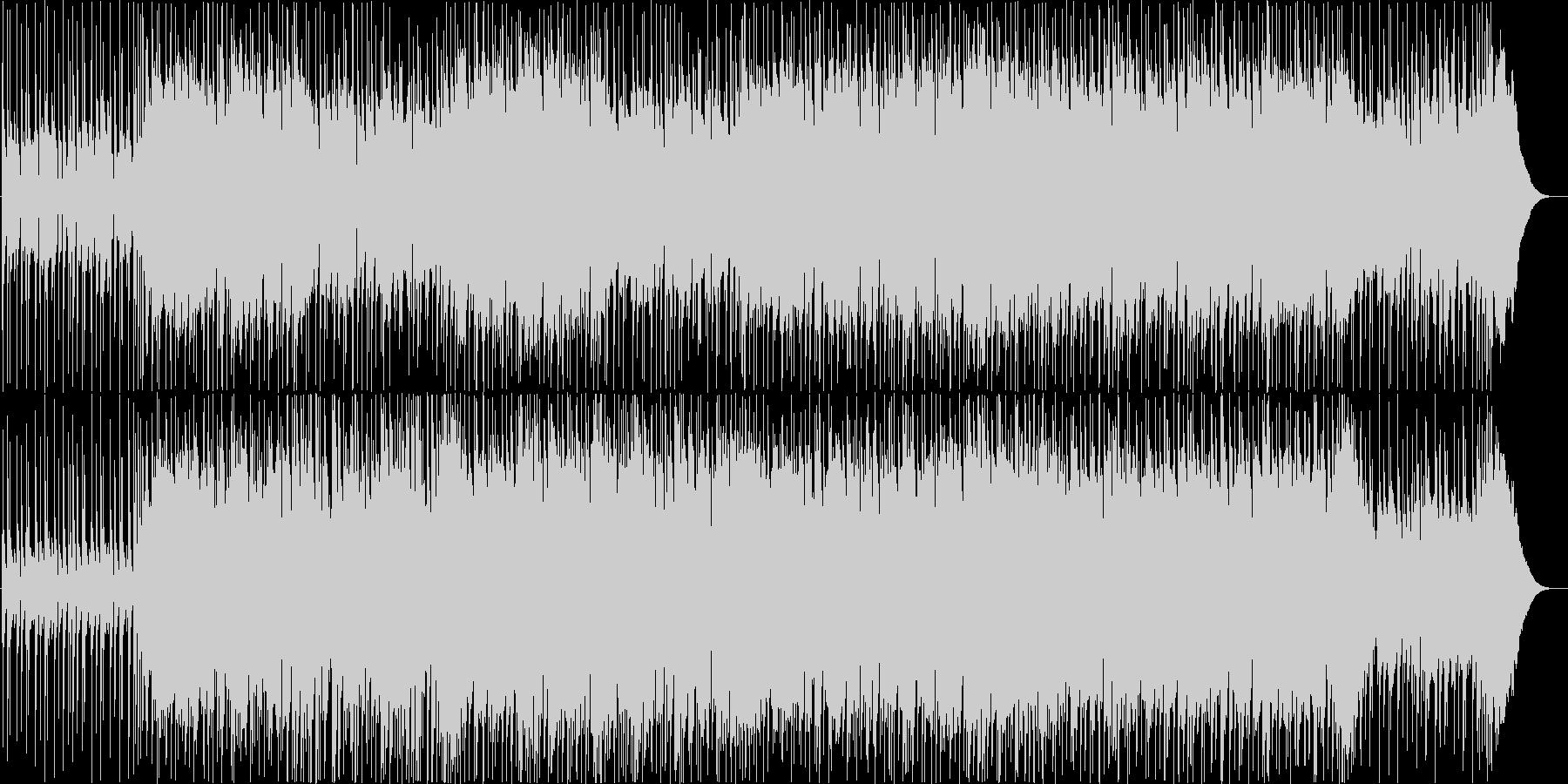 ギターインストポップの未再生の波形