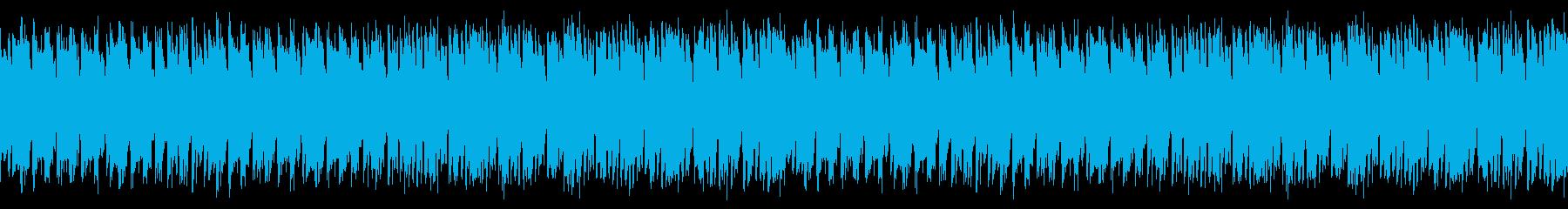 労働者の集まる酒場の音(かけ声あり)の再生済みの波形